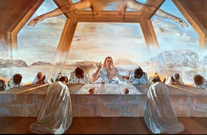 The Sacrament of the Last Supper - Salvador Dali