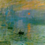Claude Monet: Impression Soleil Levant 1872
