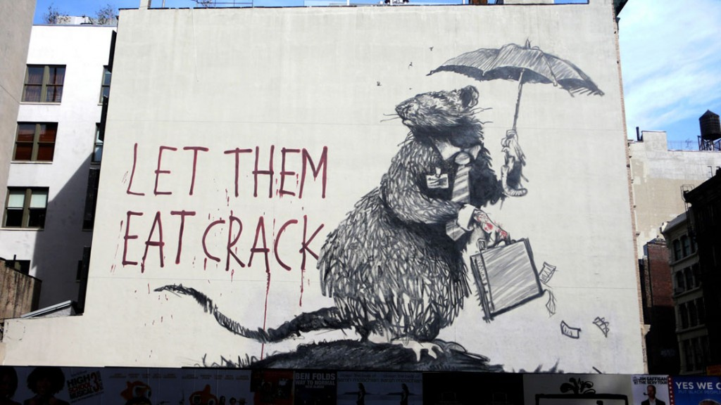Banksy - Let Them Eat Crack