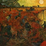 The Red Vineyard - Vincent van Gogh