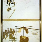 The Bride Stripped Bare By Her Bachelors-The Large Glass - Marcel Duchamp