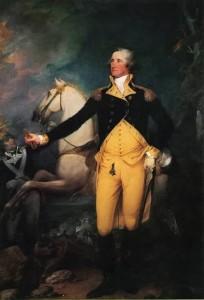John Trumbull - George Washinton Before the Battle of Trenton
