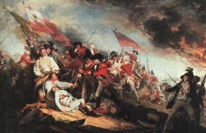 John Trumbull - Battle of Bunker HIll