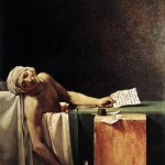 Jacques-Louis David - Death of Marat-1793