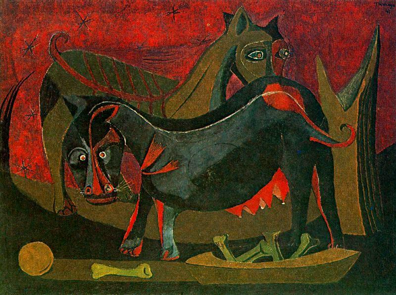 Rufino Tamayo - Dos Perros -1941