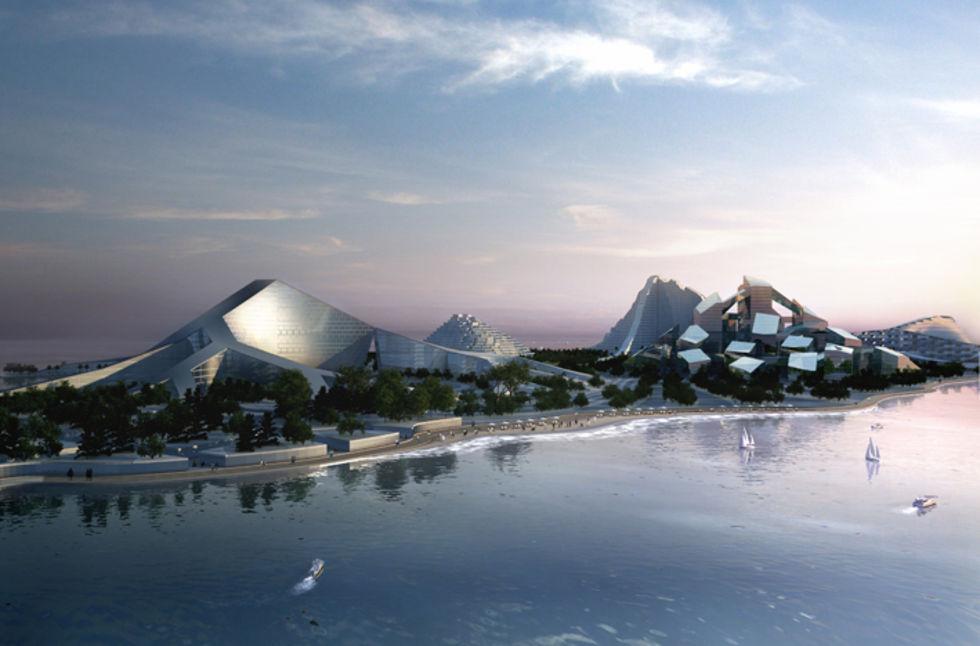 Zira Island - Bjarke Ingels Group