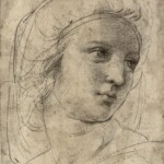 Head of a Muse - Raphael