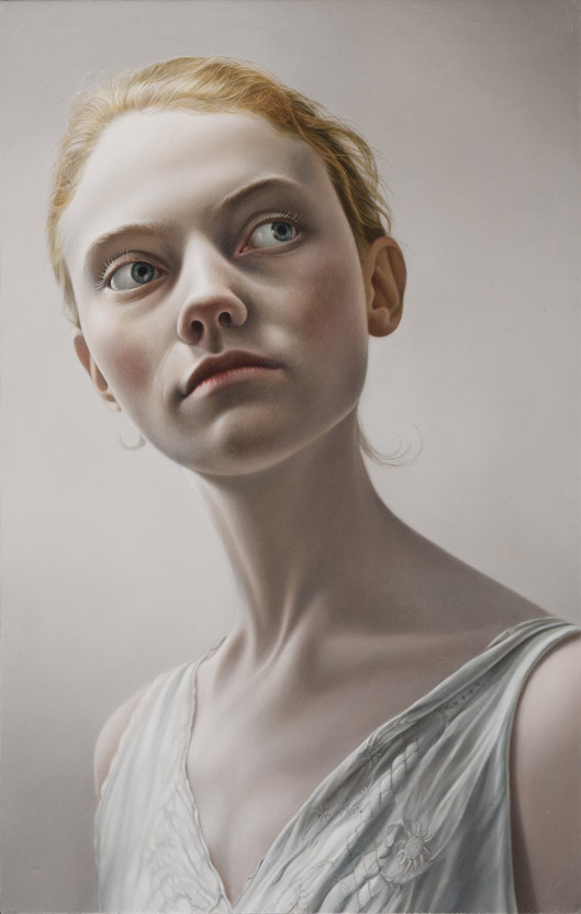 Porcelain II - Study of a Girl © Mary Jane Ansell