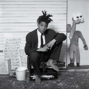 Jean-Michel Basquiat - portrait