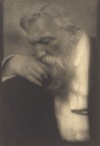 Auguste Rodin - photo by Edward Steichen ca 1911