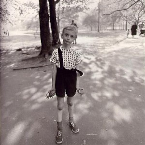 Diane Arbus-Child with Toy Hand Grenade in Central Park, New York City 1962