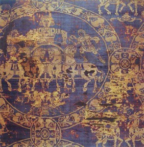fragment-of-the-shroud-in-which-the-Emperor-Charlemagne-was-buried-in-814.-It-was-made-of-gold-and-Tyrian-purple-from-Constantinople