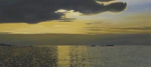 Takao Tanabe Sunset, 2015