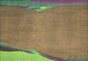 Takao Tanabe - The Land Sketch T (NYC) 1972