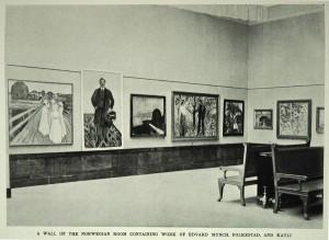 Scandinavian art at the Albright Knox Art Gallery 1913