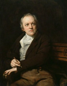 Portrait of William Blake by Thomas Phillips (1807)