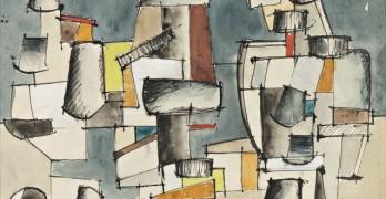 S.T ( composition abstraite) - Jean Hélion