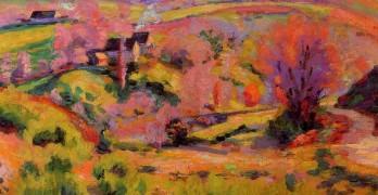 La Creuse Landscape Spring - Armand Guillaumin