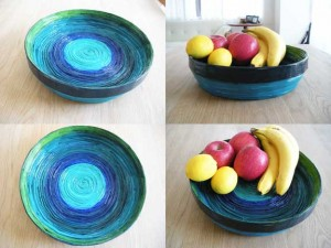 Magazine Bowl by Wendy Campbell