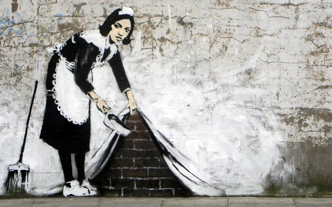 Banksy - Maid