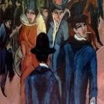 Ernst Ludwig Kirchner: Street Scene-Berlin (1913)