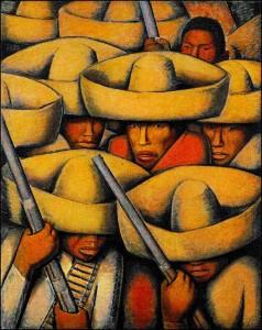 Revolution Mural -Alfredo Ramos Martinez
