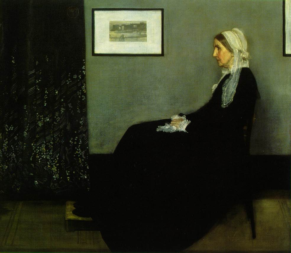 The Artist's Mother-James McNeill Whistler
