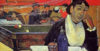 Paul-Gauguin-Night-Cafe-At-Arles