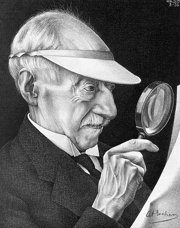 M.C. Escher - Father of the Artist