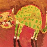 My Cat - Lena Meshcheryakova - age 7