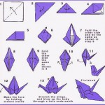 Paper Crane Instructions