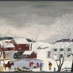 Early Skating - Anna Mary Robertson Moses