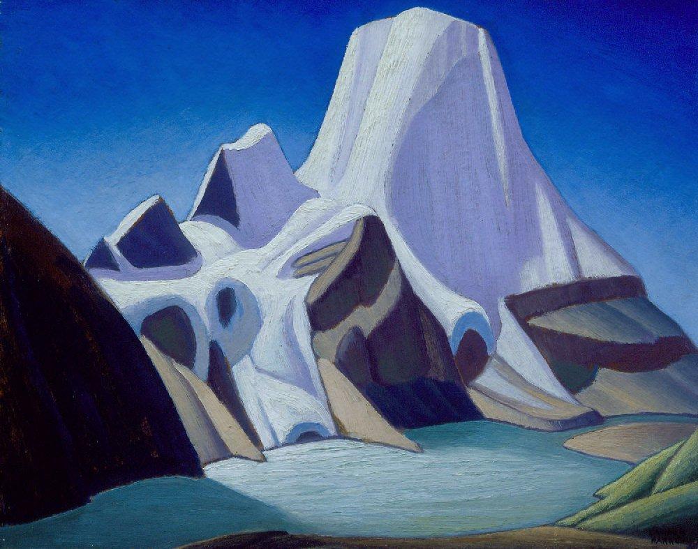 Lawren Harris - Mount Robson From the Northeast - 1929