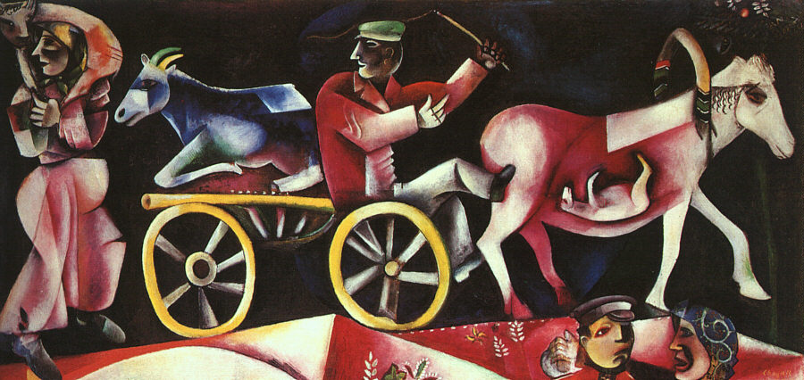 The Cattle Dealer - Marc Chagall