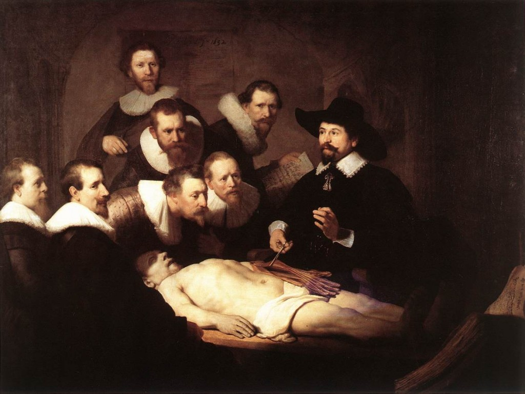 The Anatomy Lecture of Dr. Nicolaes - Rembrandt van Rijn