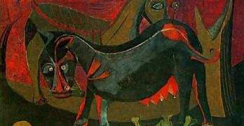 Rufino Tamayo - Dos Perros - 1941