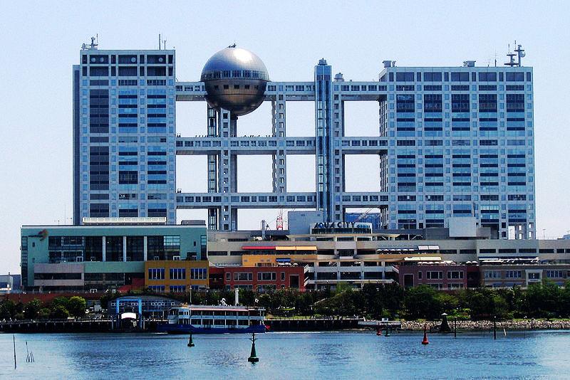 Kenzo Tange - Fuji TV Building - Odaiba-Tokyo