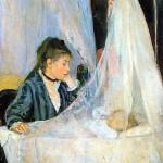 Berthe Morisot - Le Berceau (The Cradle) 1872