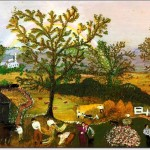 Moving Day On The Farm - Anna Mary Robertson (Grandma) Moses -1951