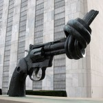 Non Violence - Carl Fredrik Reutersward-United Nations Peace Sculpture