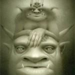 Stack of Demons © Travis Louie