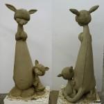 Sculpture in progress - 2009 - Scott Musgrove