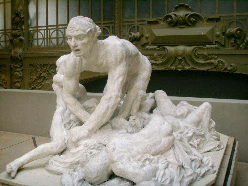 Auguste Rodin Ugolino e Seus Filhos 1881