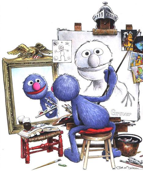 grover-self-portrait-joe-mathieu