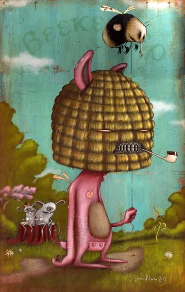 A Bee Keepers Promise © Johan Potma