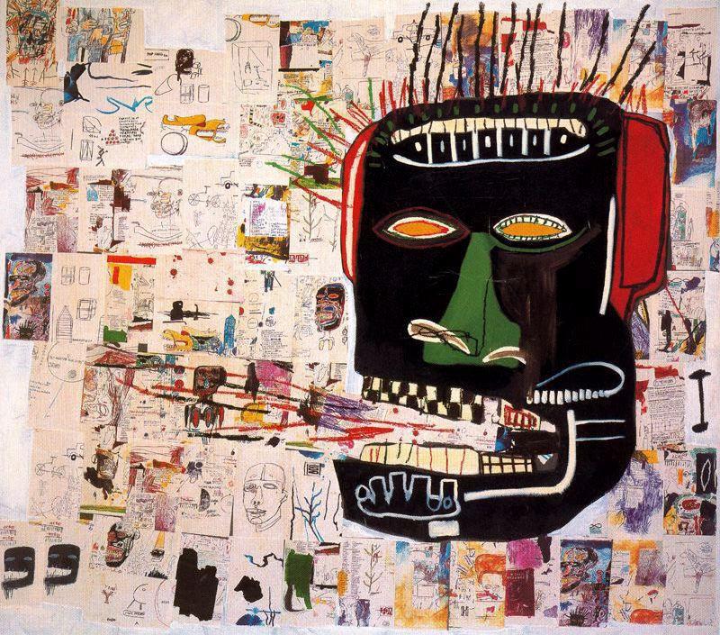 Jean-Michel Basquiat - Glenn - 1984