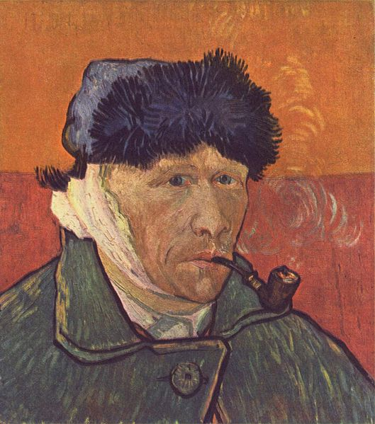 Self-Portrait-Vincent-van-Gogh-1889