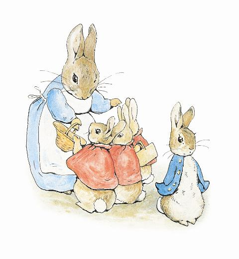 Beatrix Potter Tales of Peter Rabbit