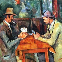 Les Joueurs de Carte (The-Card-Players) - Paul Cezanne