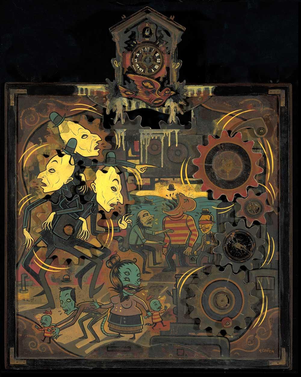 Punch-the-Clock - Paul Chatem